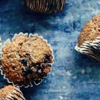 Newfoundland Blueberry Bran Muffins