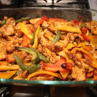 "Oven Fajitas....a ""One Dish Dinner"""