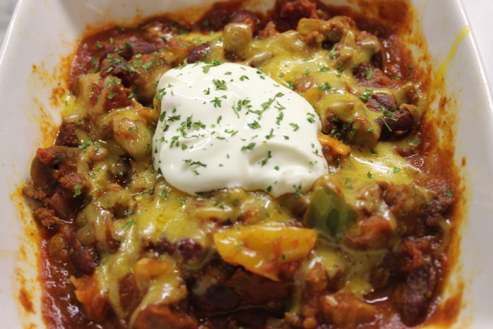 "Turkey Chili….a ""One Dish Dinner"""