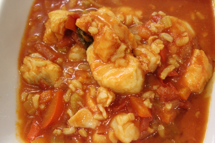 Spicy Fish Chowder