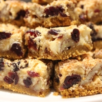 Coconut Cranberry Bars
