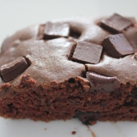 Mix in the Pan Chocolate Snack Cake