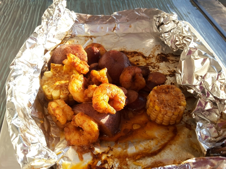 Happy May 24th Weekend and Shrimp Boil Foil Packets Recipe