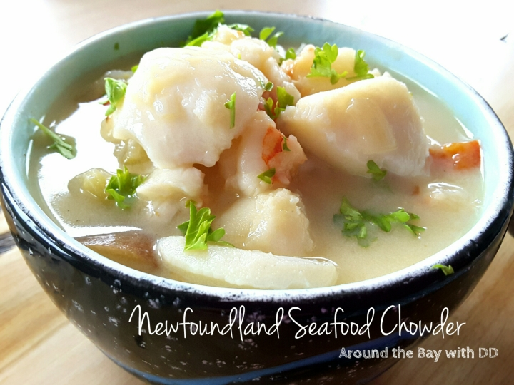 Newfoundland Seafood Chowder