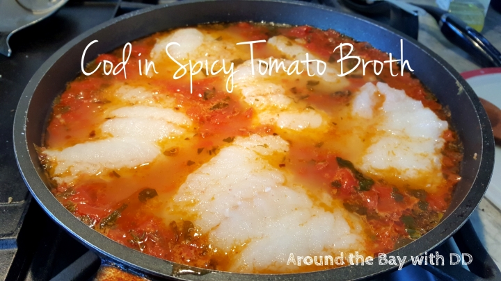 Cod in Spicy Tomato Broth