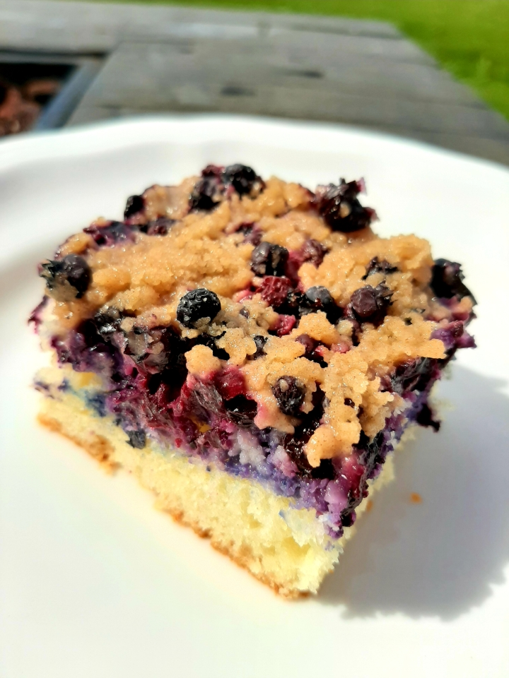 Newfoundland Blueberry Buckle