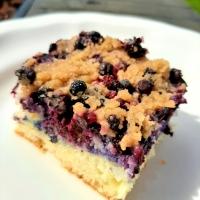 Newfoundland Blueberry Buckle