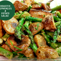 Roasted Asparagus and Potato Salad